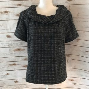 CLASSIQUES ENTIER Cowl Neck Top with Pockets